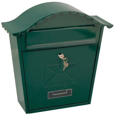 traditional-postbox-green