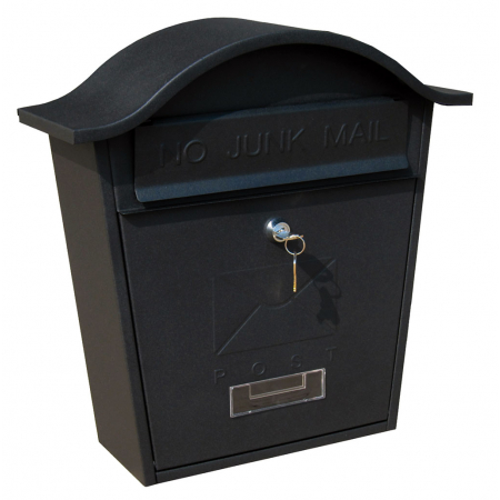 traditional-postbox-no-junk-mail-black